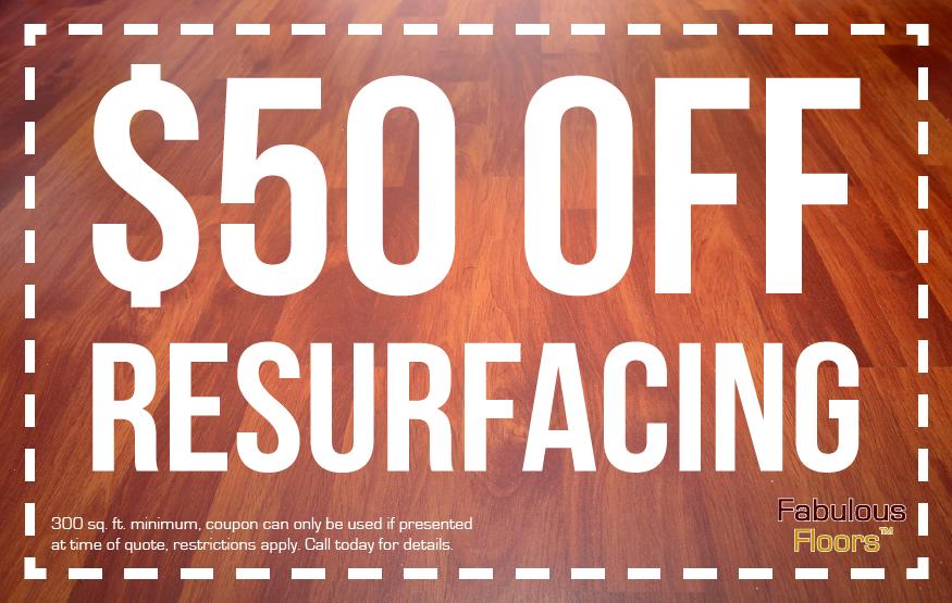 $50 off resurfacing in trenton couopn