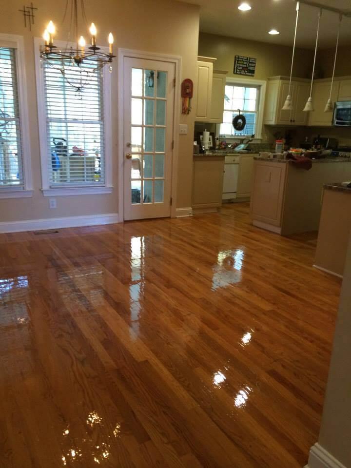 afetr wood floor resurfacing in north jersey