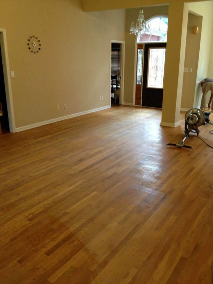 lightly damaged hardwood floor north jersey